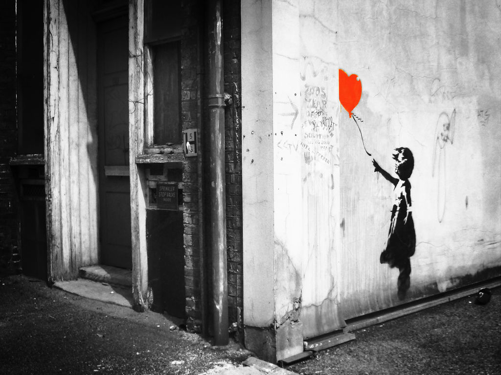 banksy HD Wallpaper