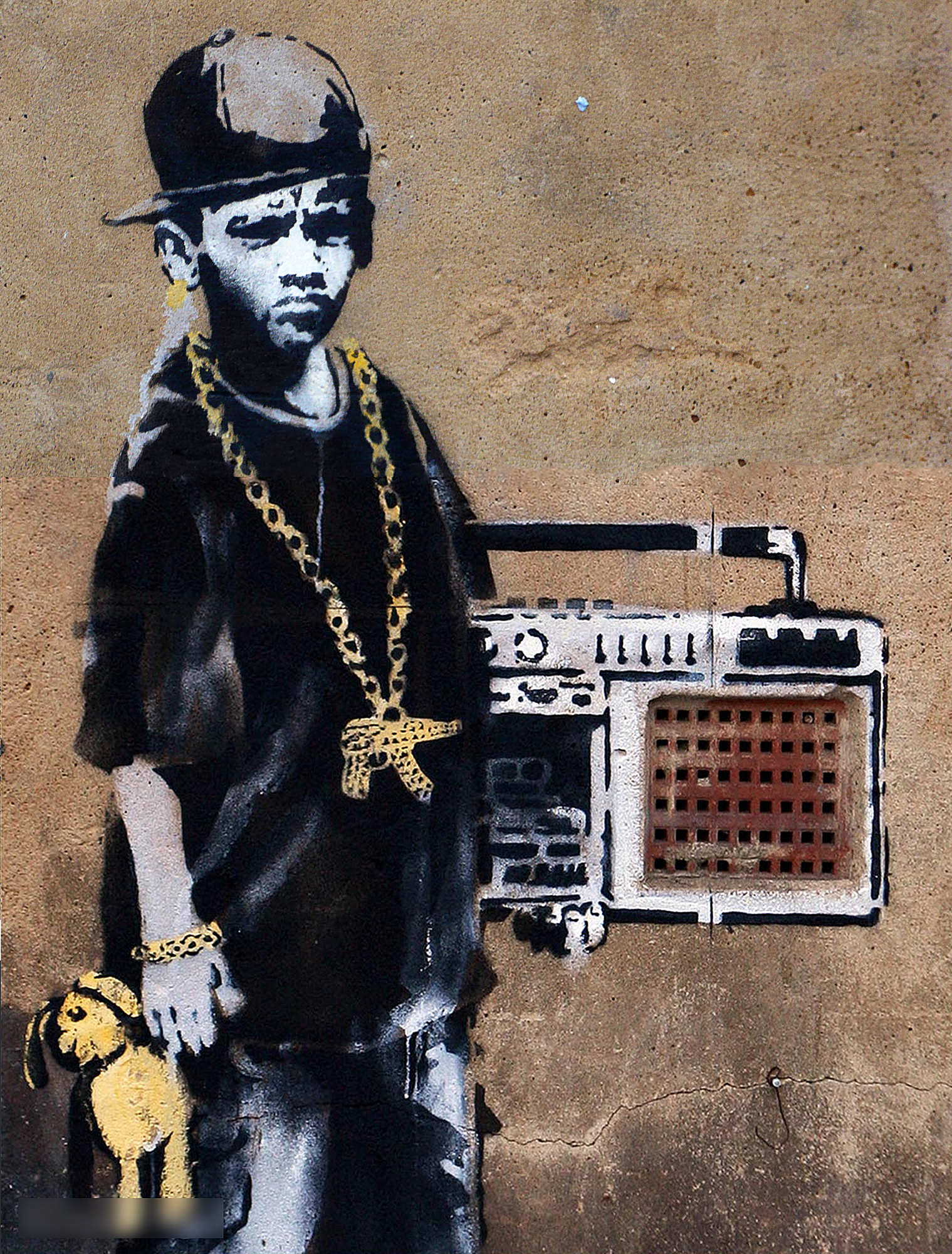 banksy high HD Wallpaper