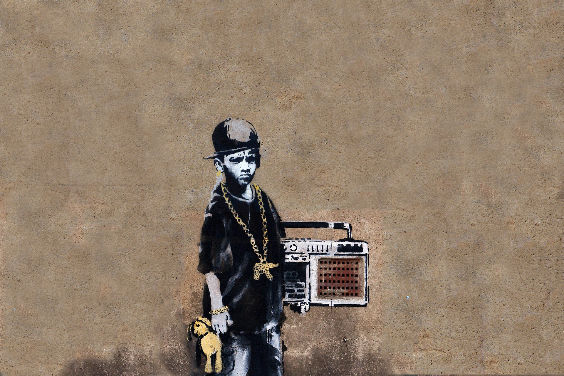banksy wp high HD Wallpaper