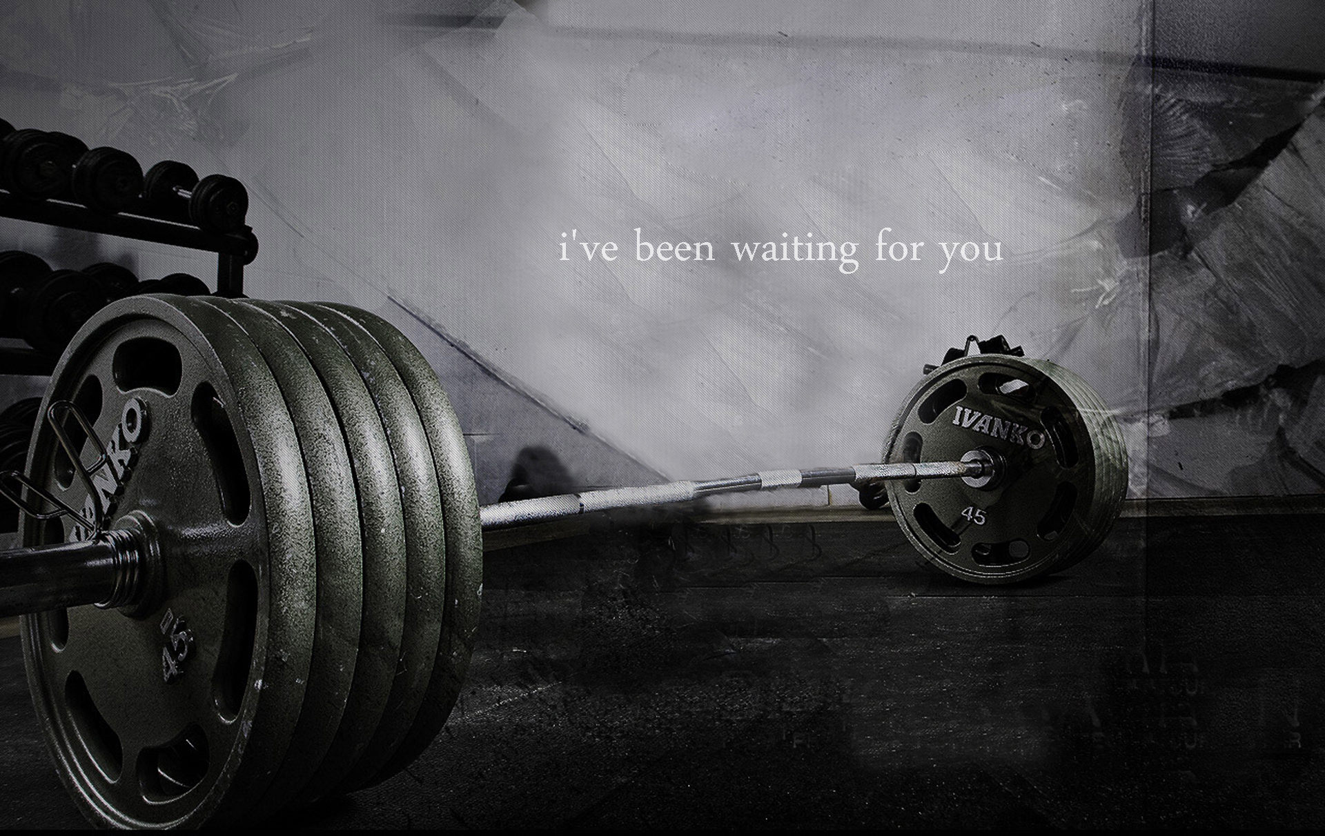 bar monochrome weights weight HD Wallpaper