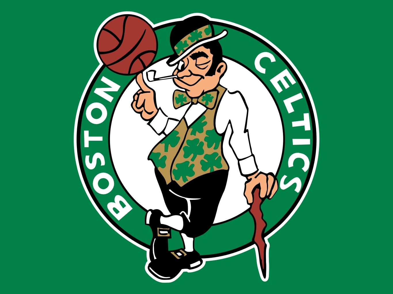 basketball Celtics Boston clover HD Wallpaper