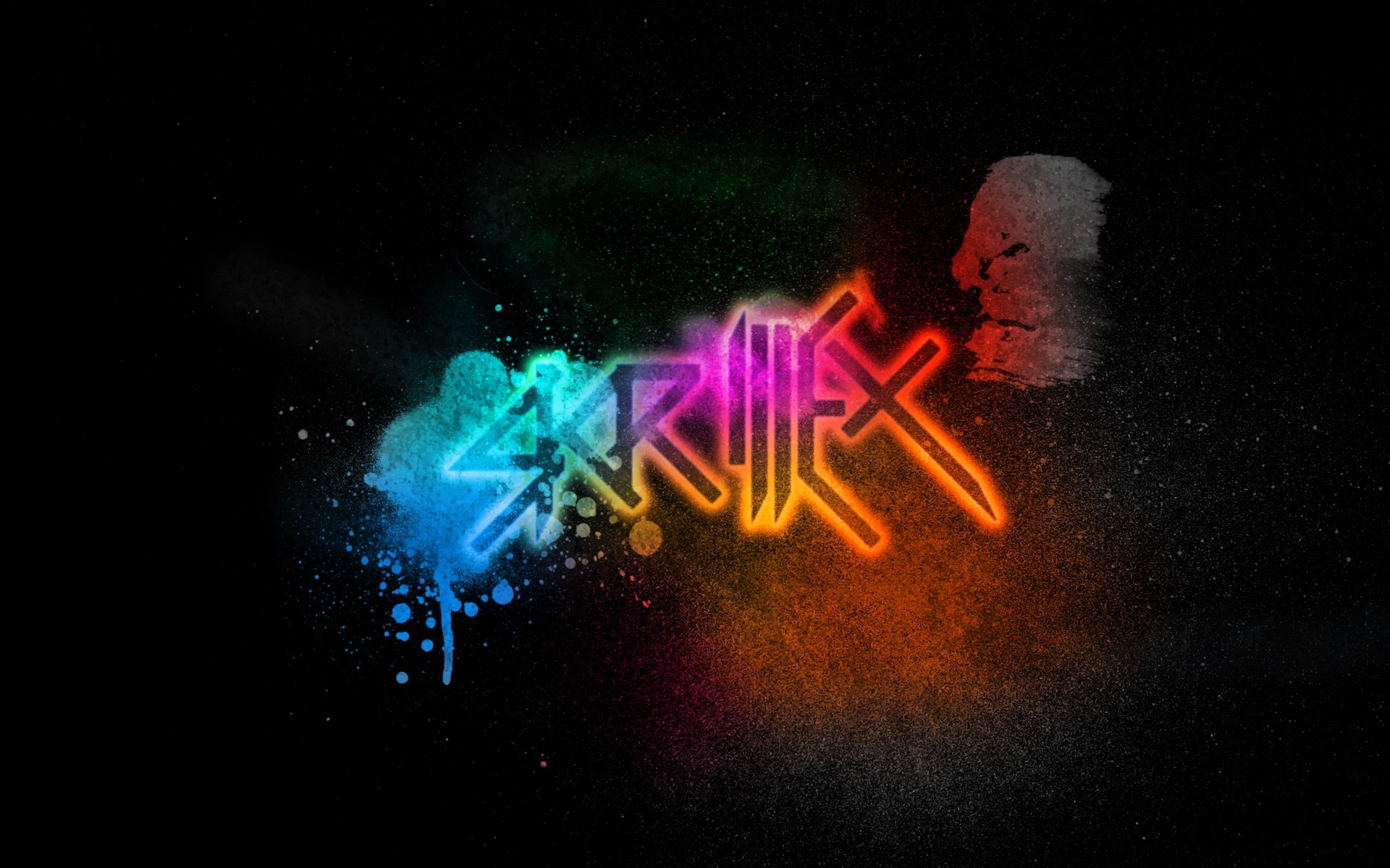bass electric dubstep skrillex HD Wallpaper