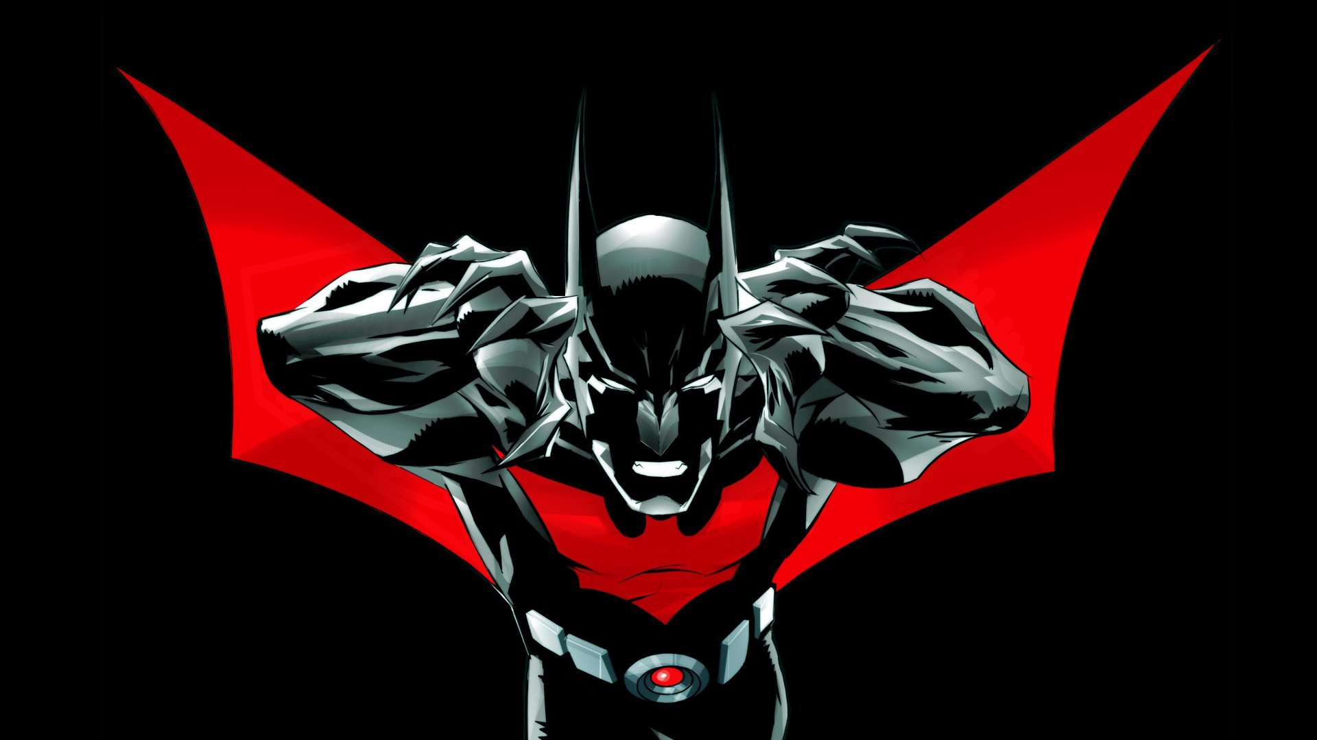 Batman Beyond Batman Logo HD Wallpaper