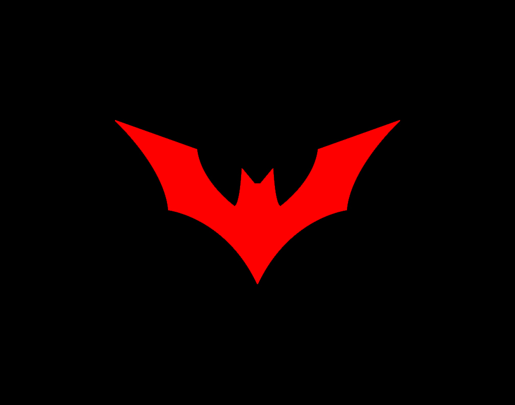 Batman Beyond Simple Background HD Wallpaper