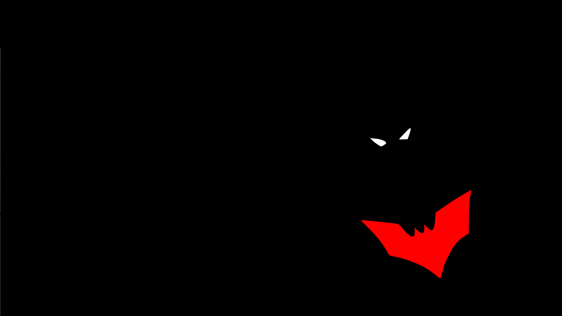 Batman black Beyond cartoon HD Wallpaper