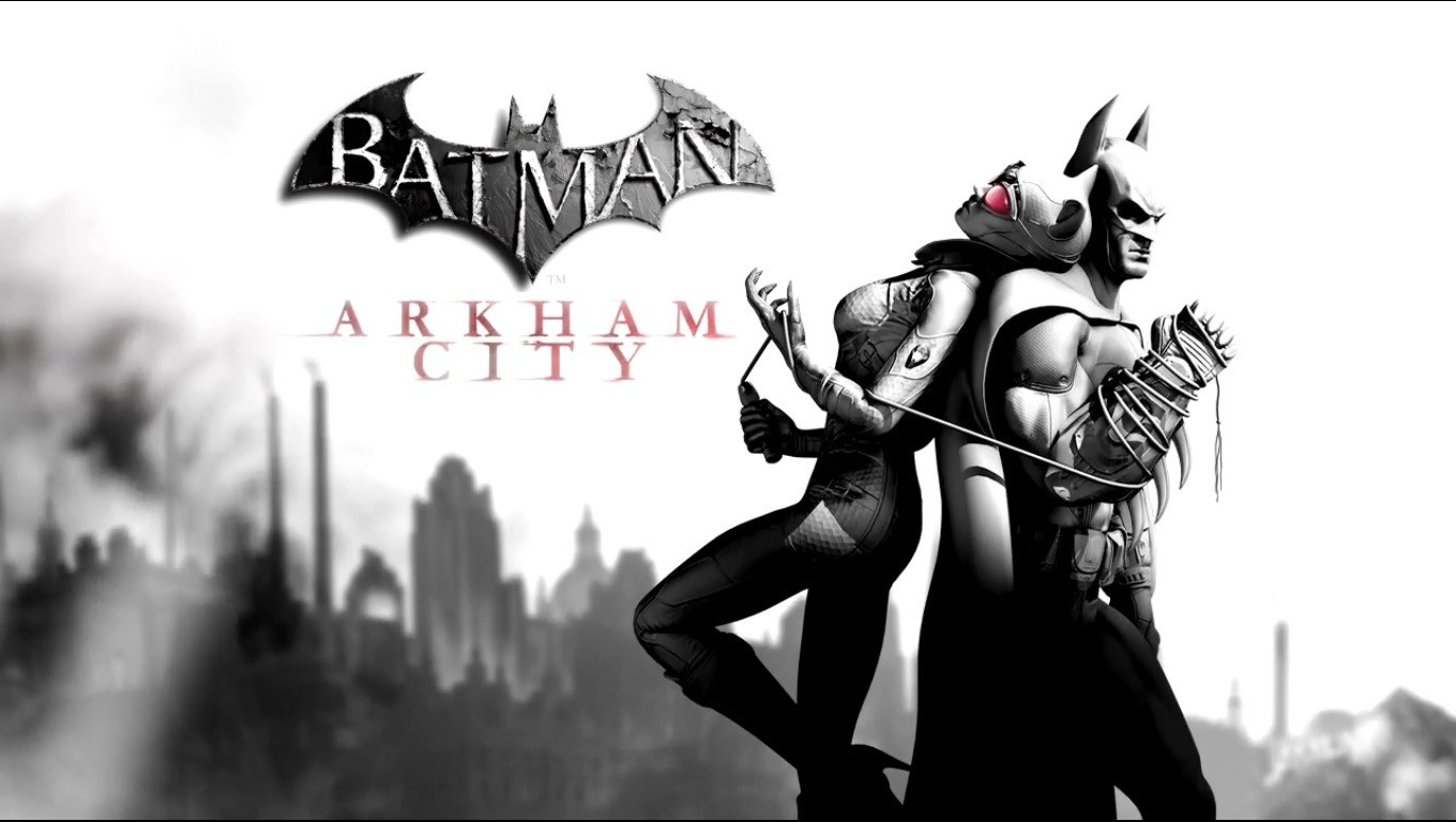 Batman Catwoman arkham city HD Wallpaper
