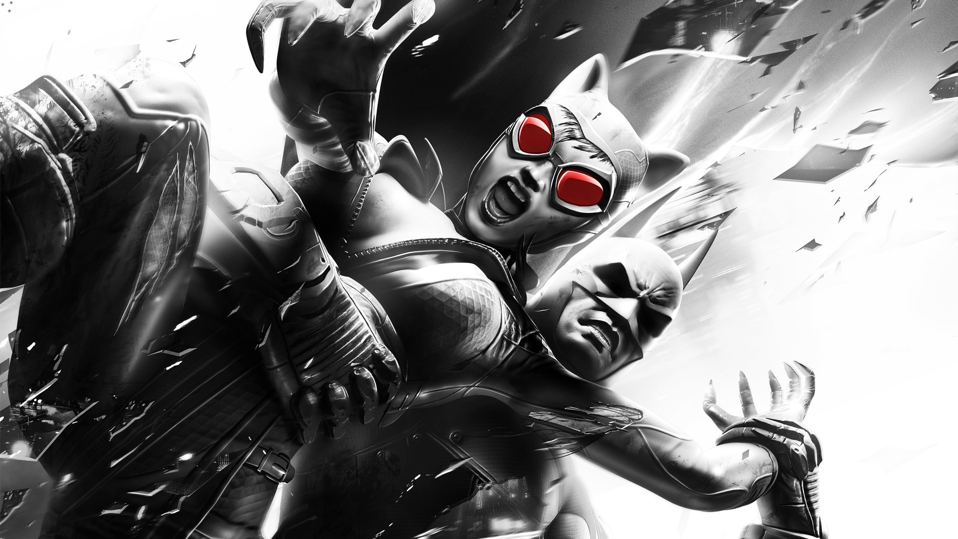 Batman Catwoman batman arkham HD Wallpaper