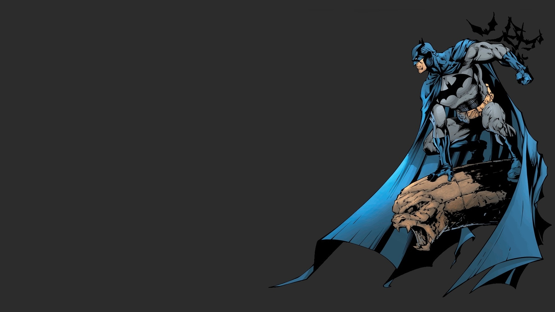 Batman minimalistic dc comics HD Wallpaper