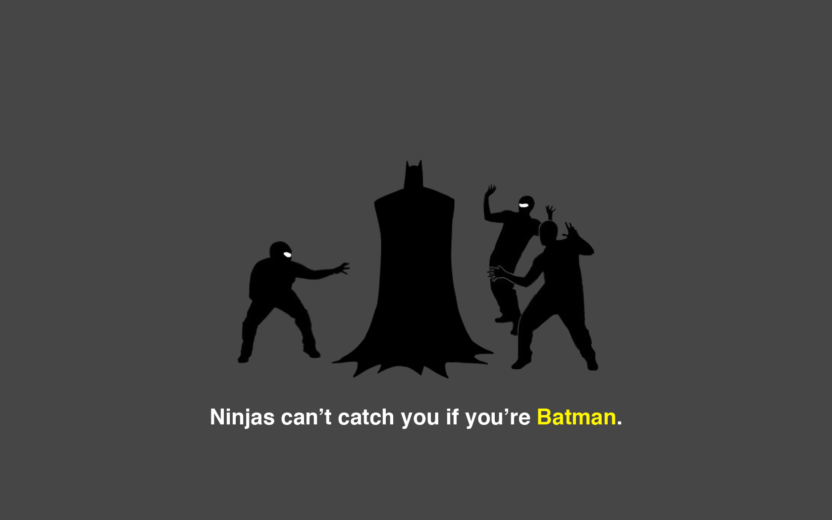 Batman ninjas cant catch HD Wallpaper
