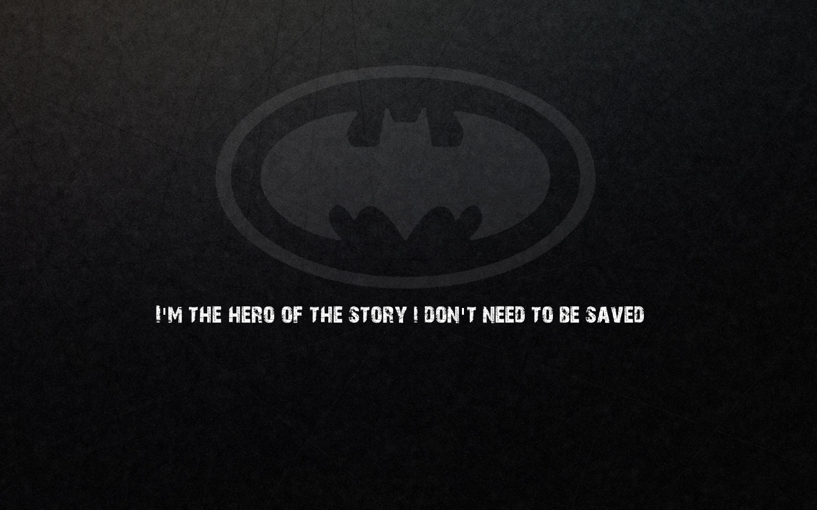 Batman Quotes Batman Logo HD Wallpaper