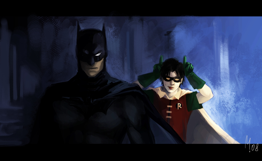Batman robin dc comics HD Wallpaper