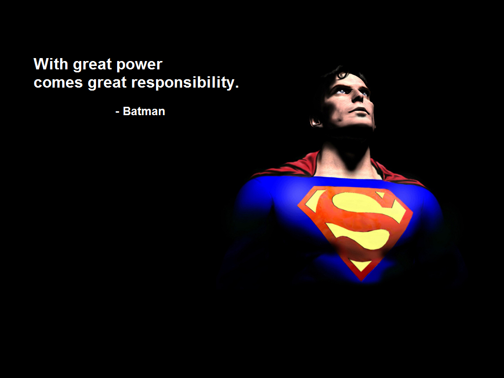 Batman Spider-Man superman Quotes HD Wallpaper