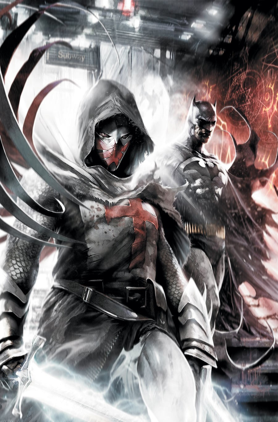 Batman superheroes artwork Azrael HD Wallpaper
