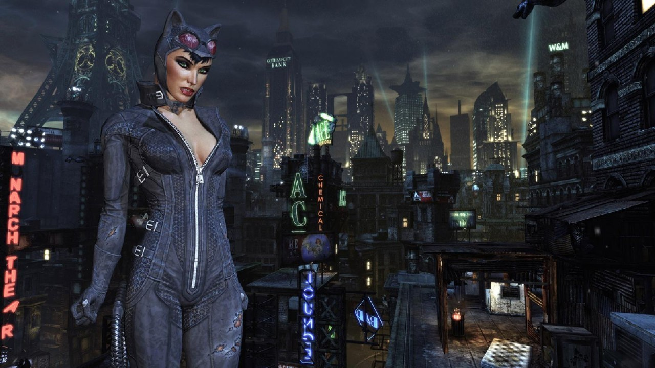 Batman video games Catwoman HD Wallpaper