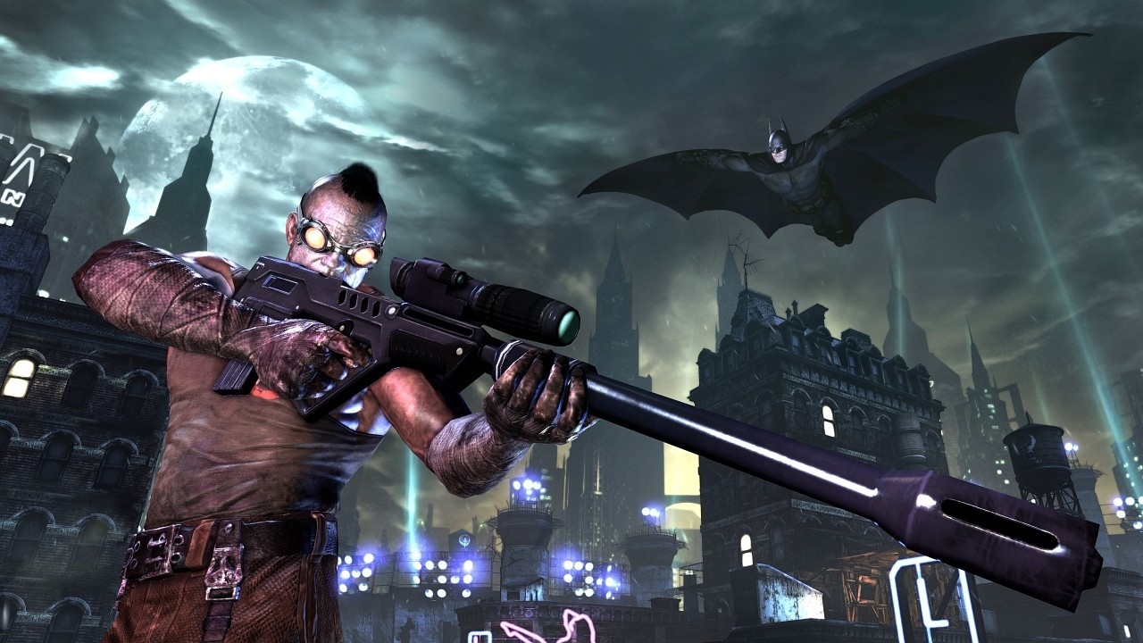 Batman video games cityscapes HD Wallpaper