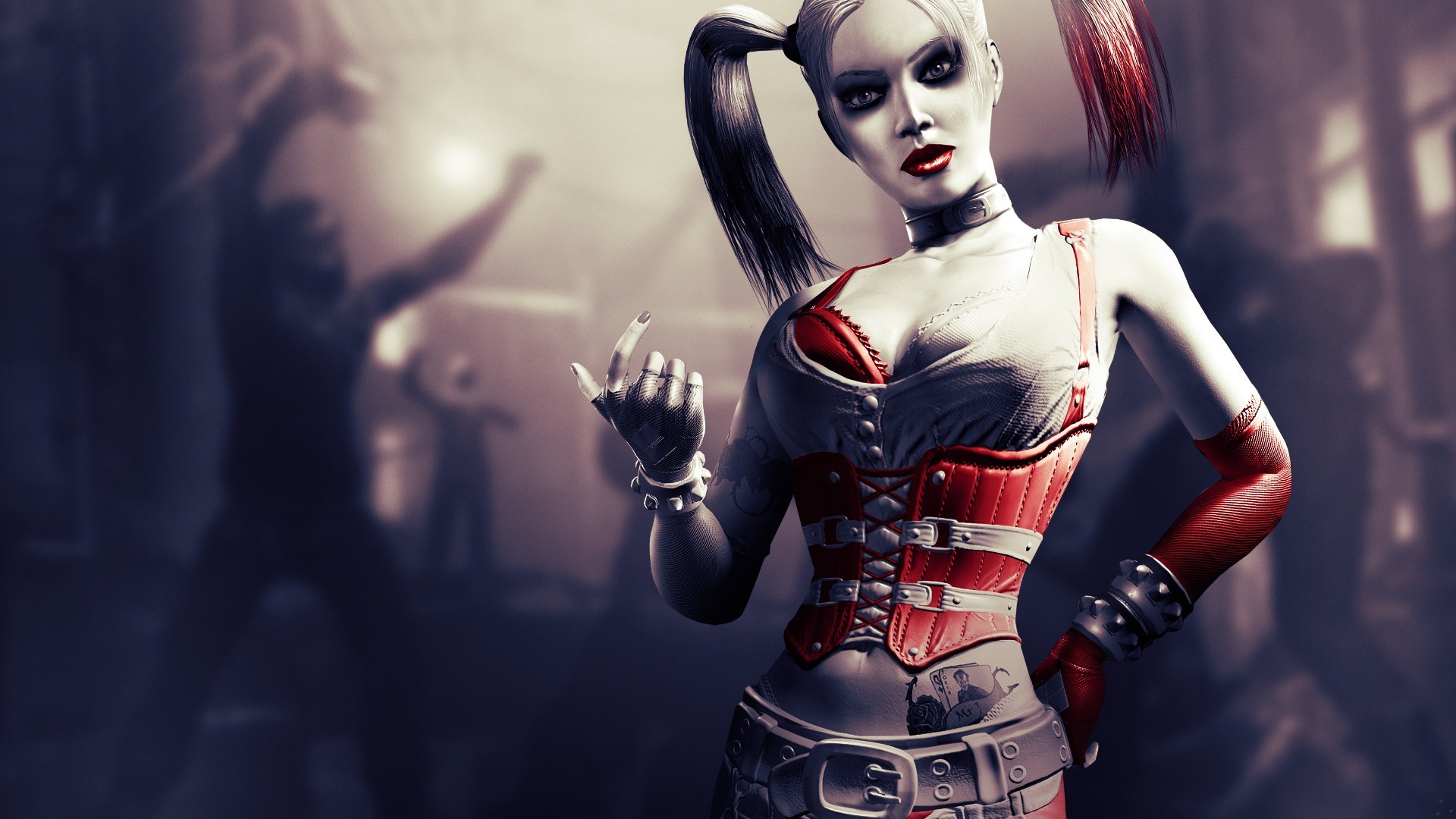 Batman video games harley HD Wallpaper