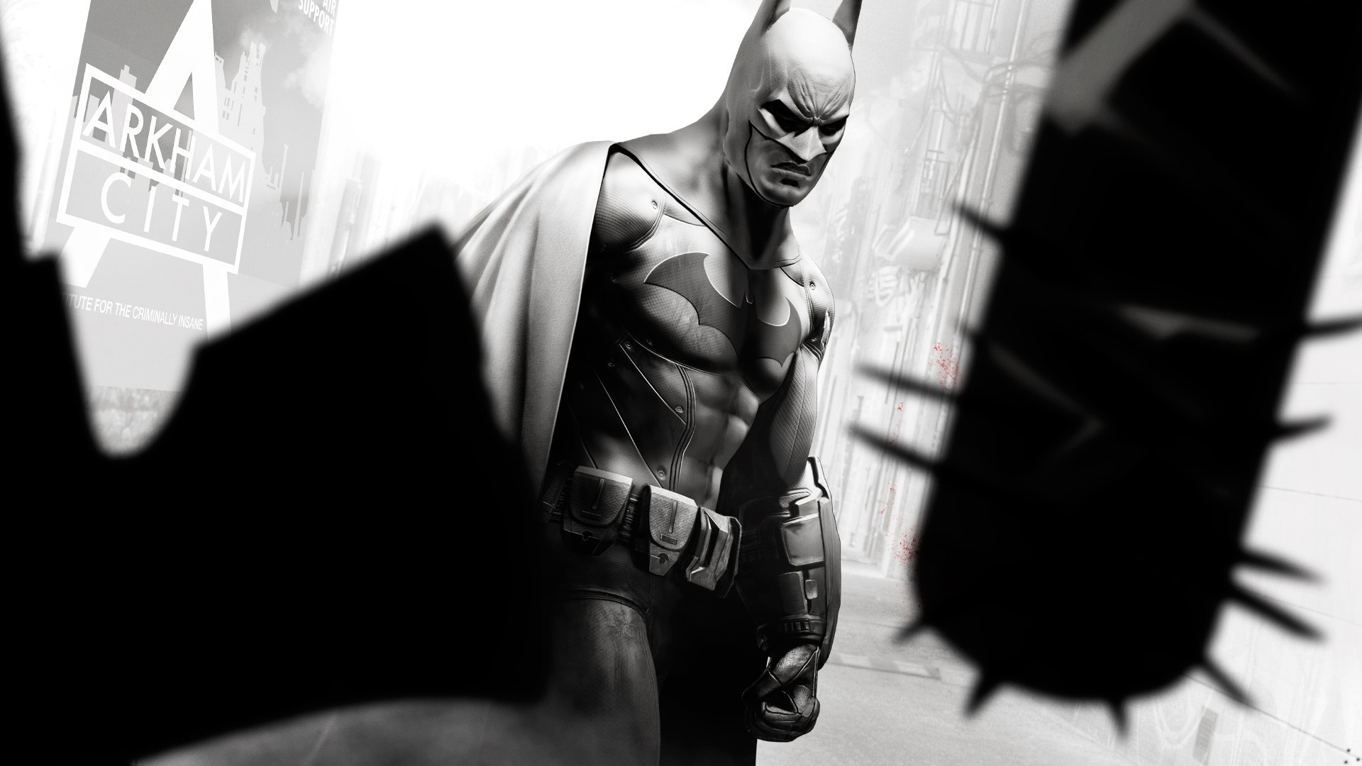 Batman video games heroes HD Wallpaper