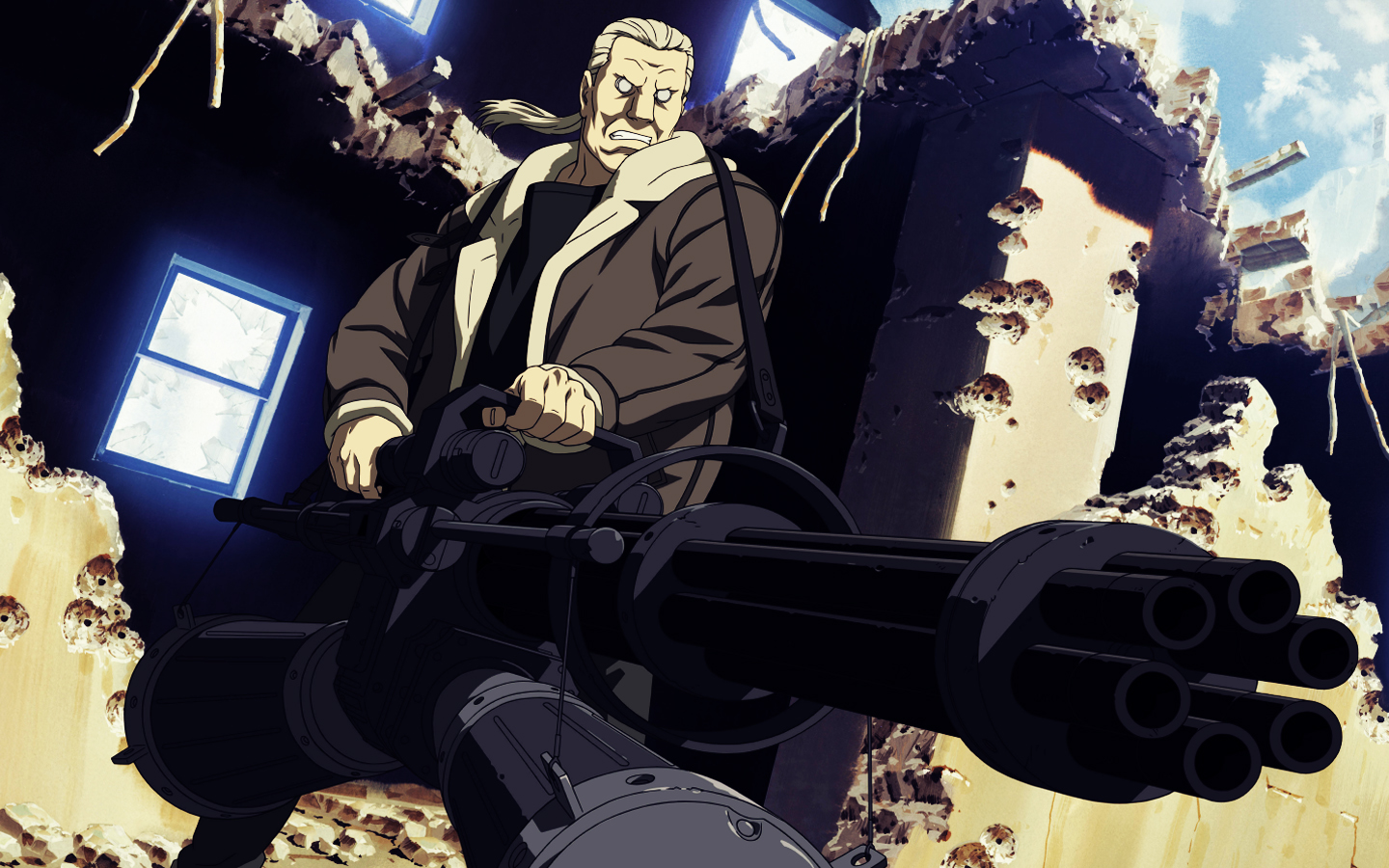Batou Anime Ghost in HD Wallpaper