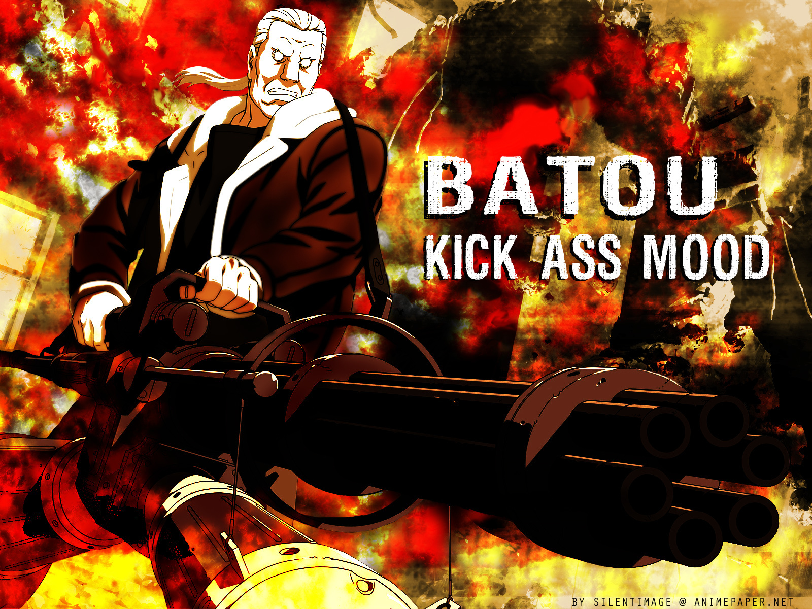 Batou Ghost in the HD Wallpaper