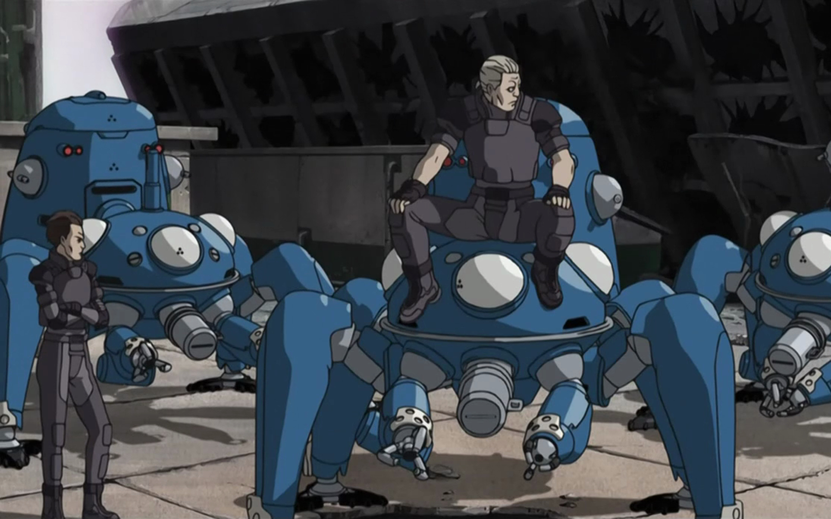 Batou gits Anime HD Wallpaper