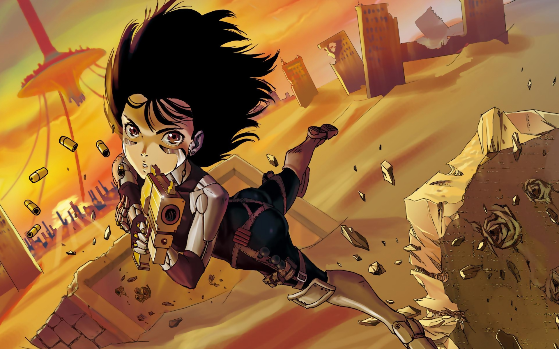 Battle Angel Alita Gunnm HD Wallpaper