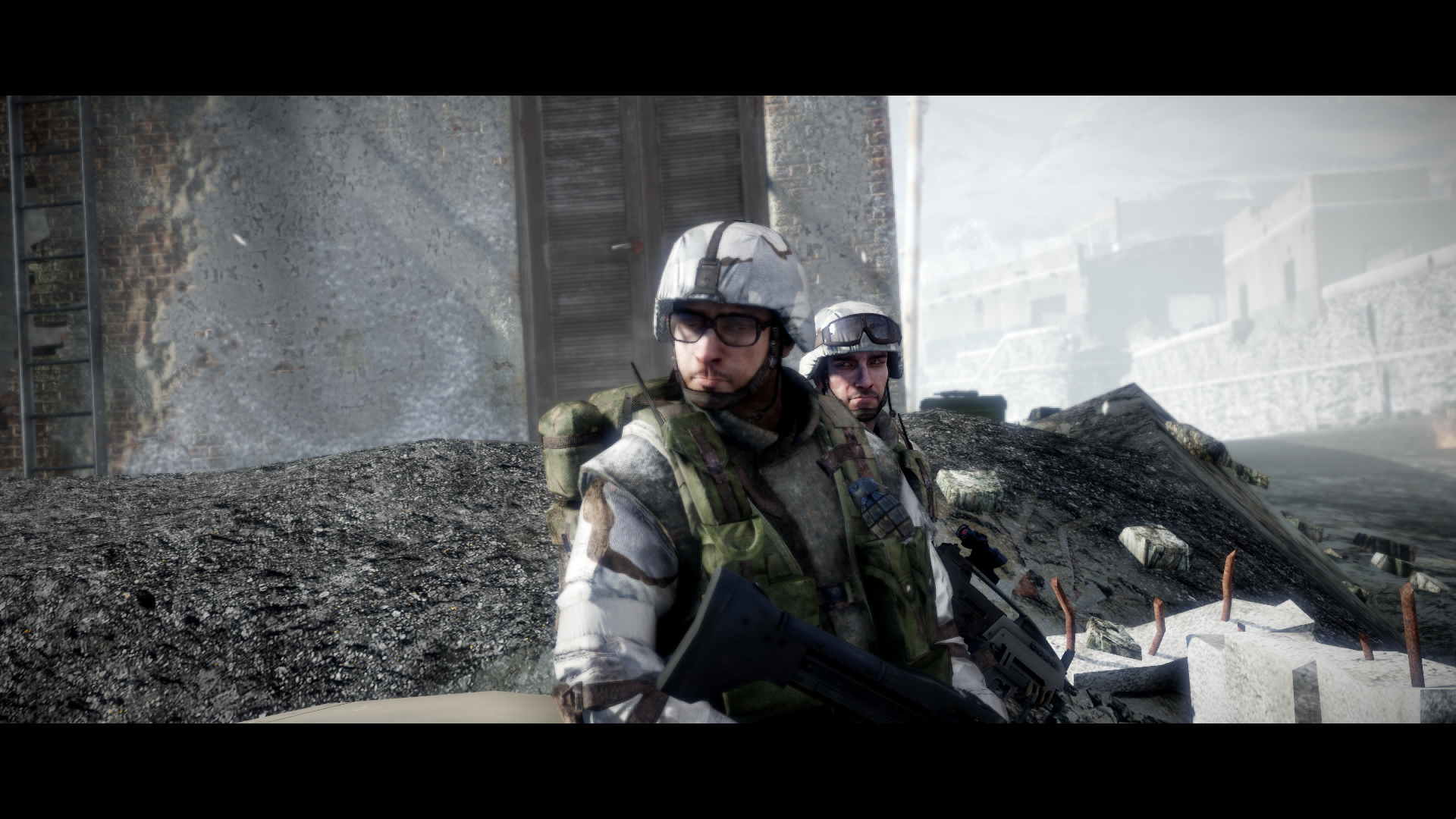 battlefield bad Company HD Wallpaper