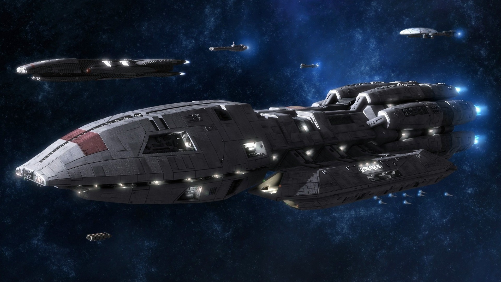 battlestar galactica pegasus TV HD Wallpaper