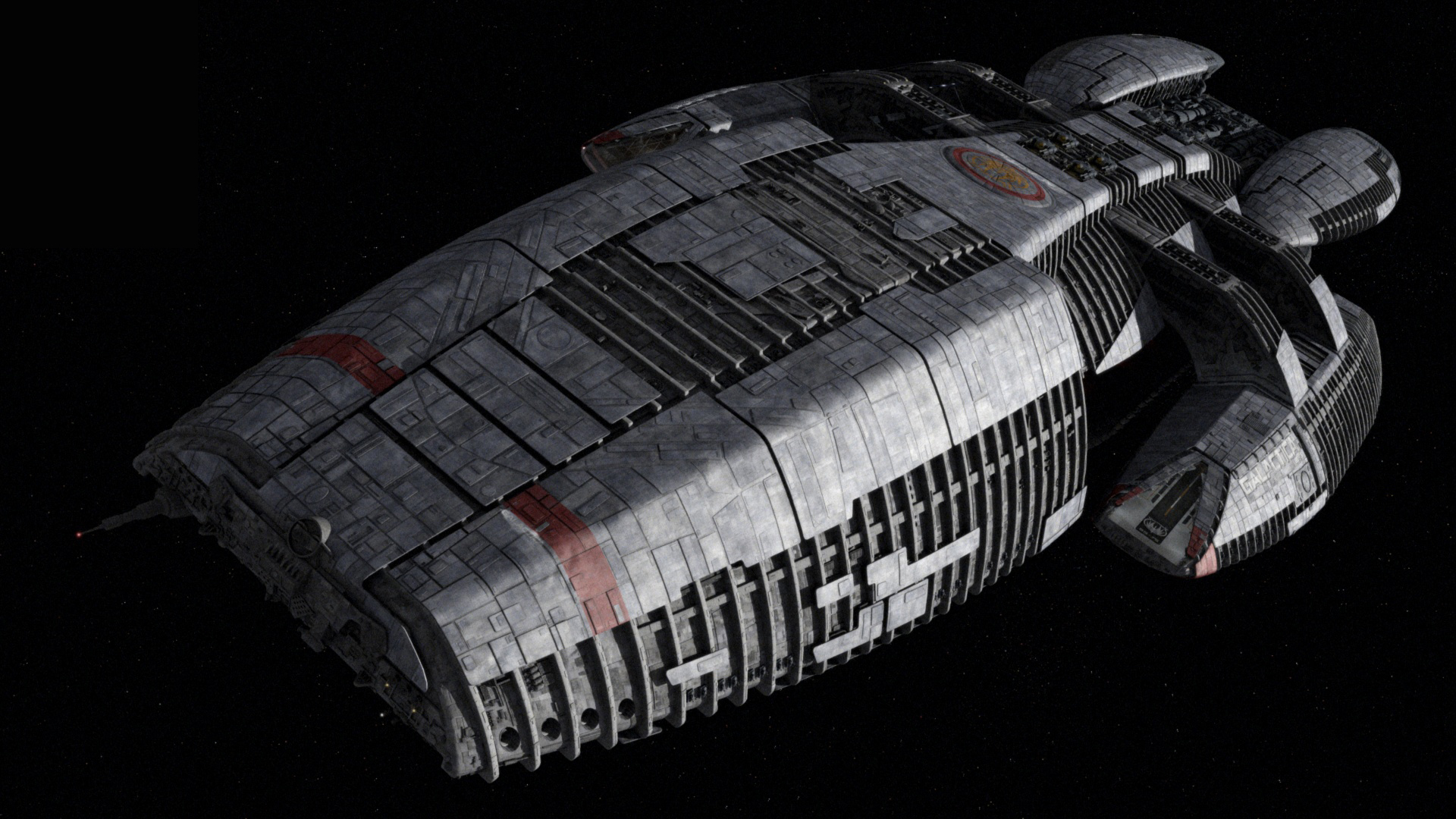 battlestar galactica space vehicle HD Wallpaper