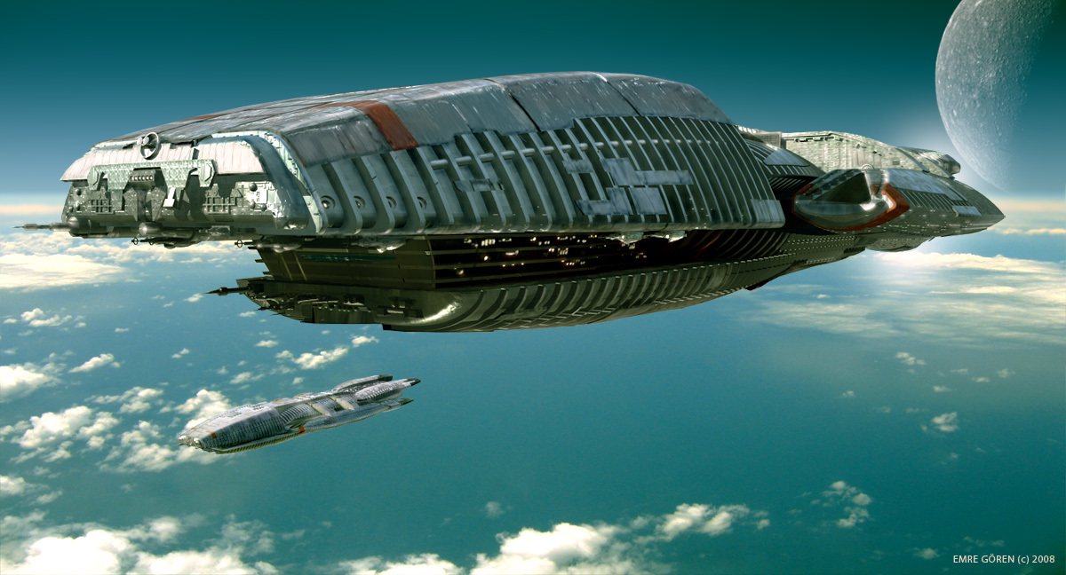 battlestar galactica spaceships vehicles HD Wallpaper