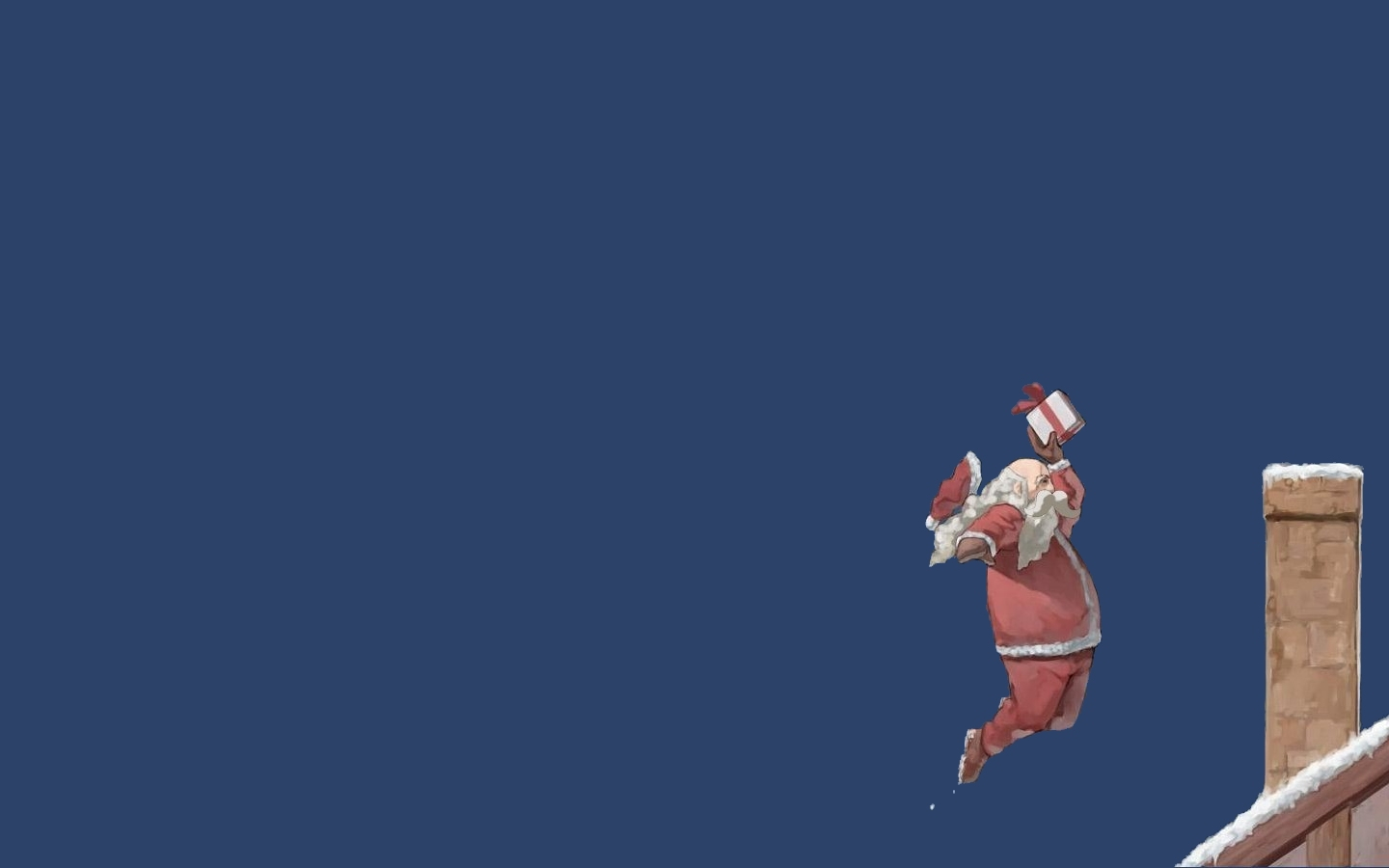 beard Simple Background santa