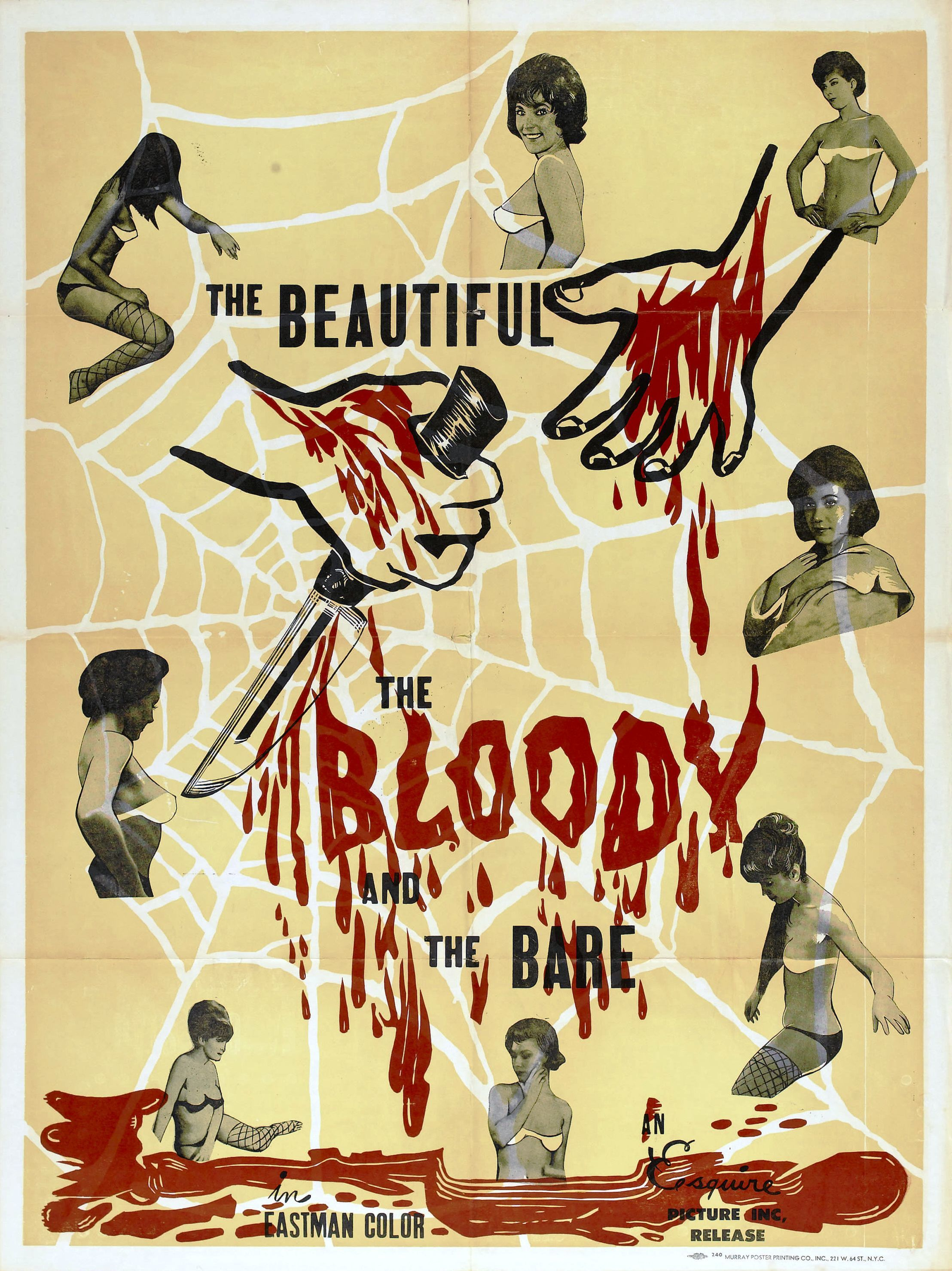 beautiful bloody bare poster