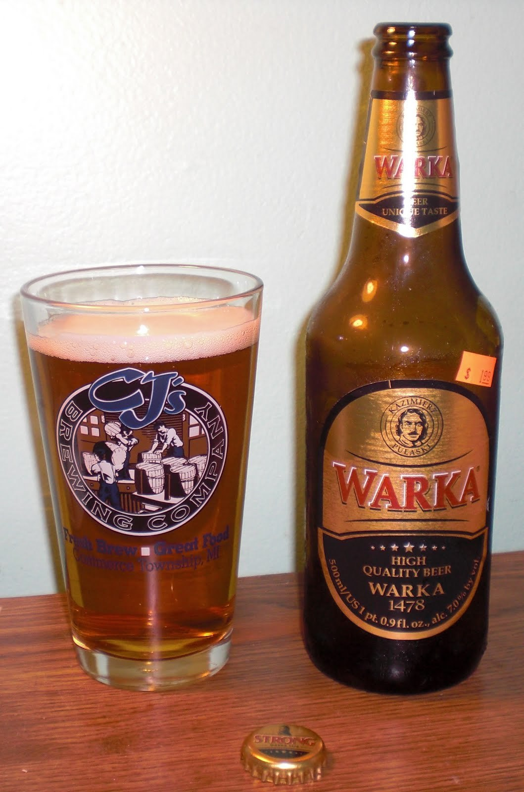 beers Polish warka beer HD Wallpaper