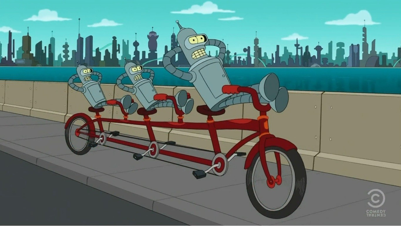 Bender Futurama HD Wallpaper