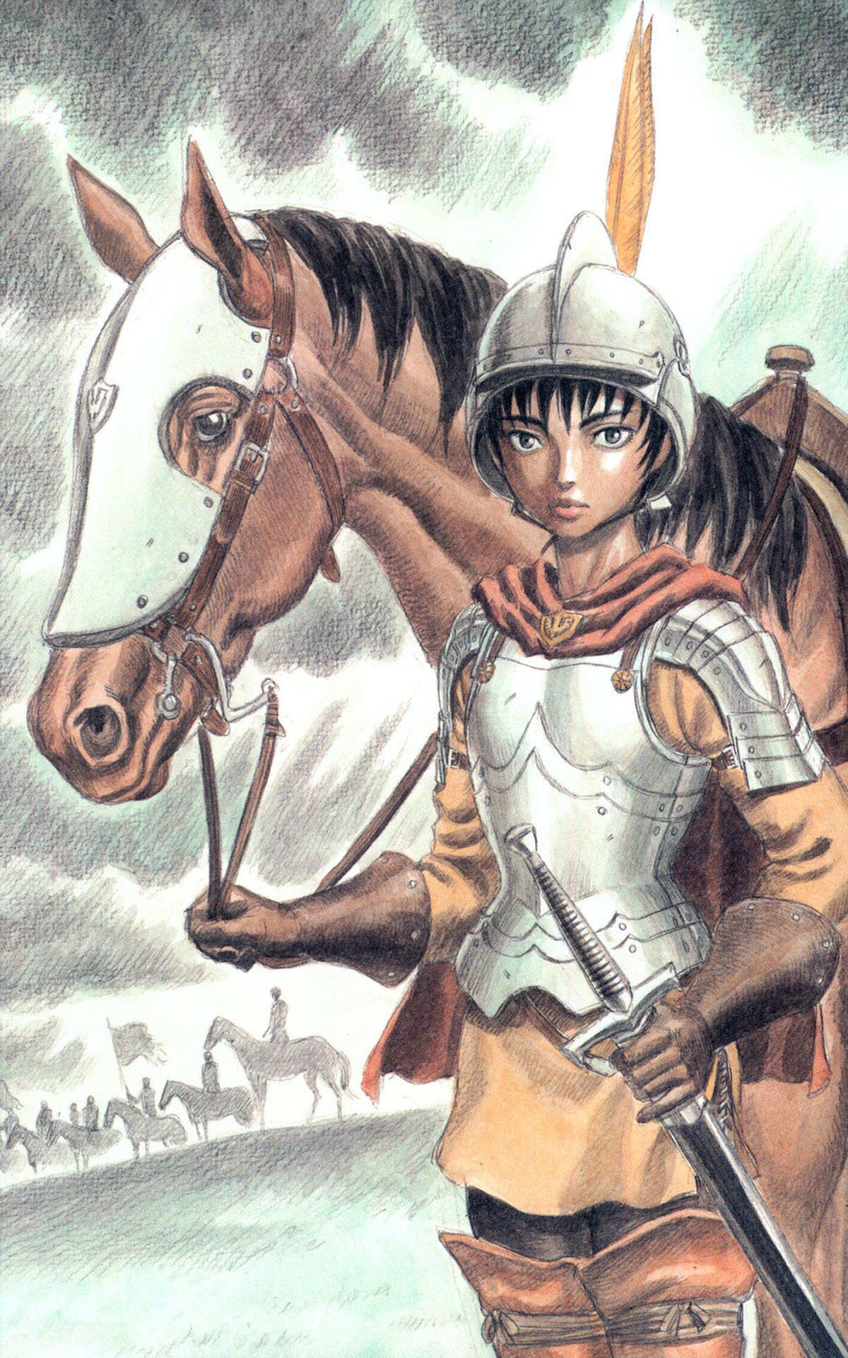 berserk Casca Anime HD Wallpaper