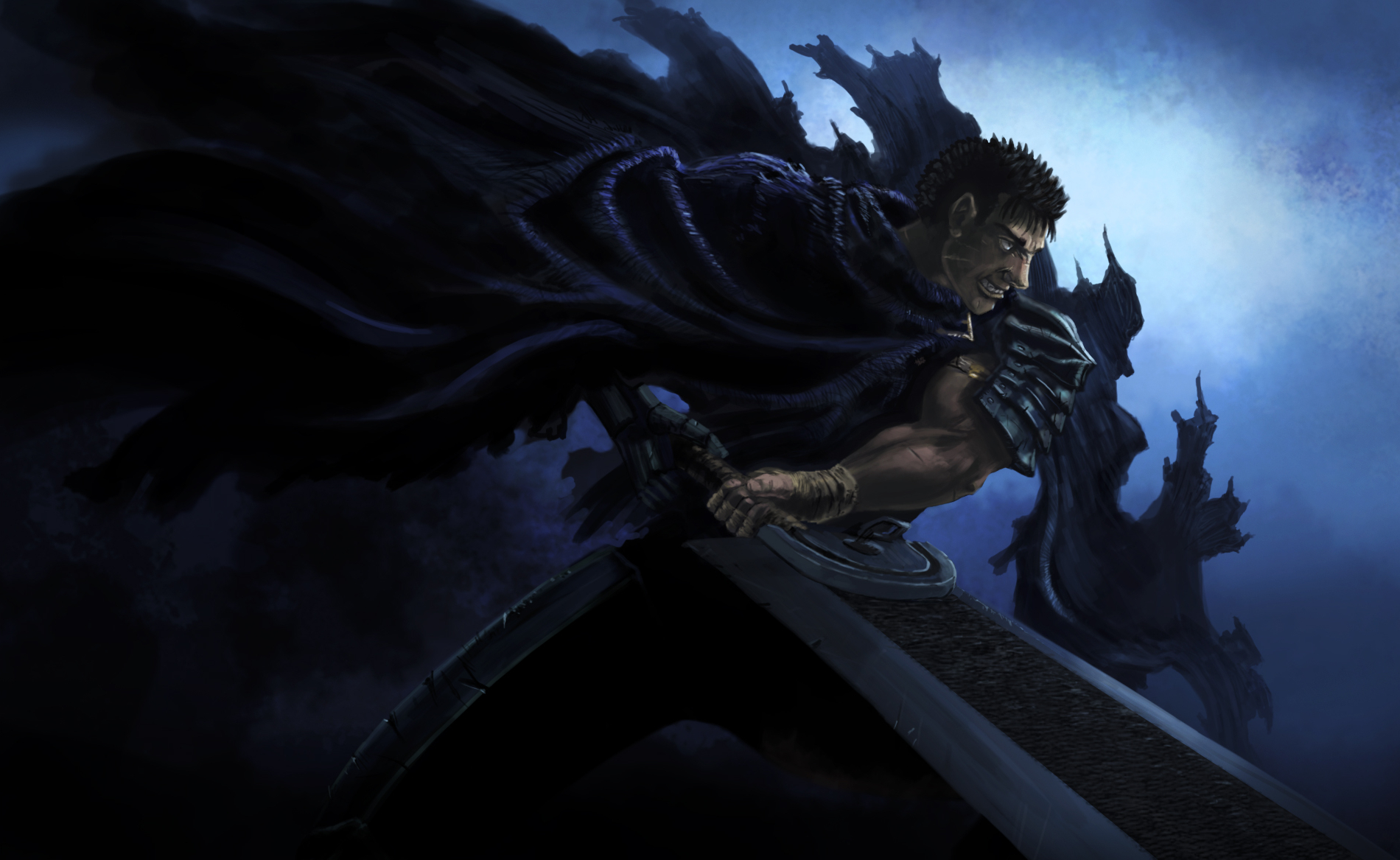 berserk Guts Anime HD Wallpaper