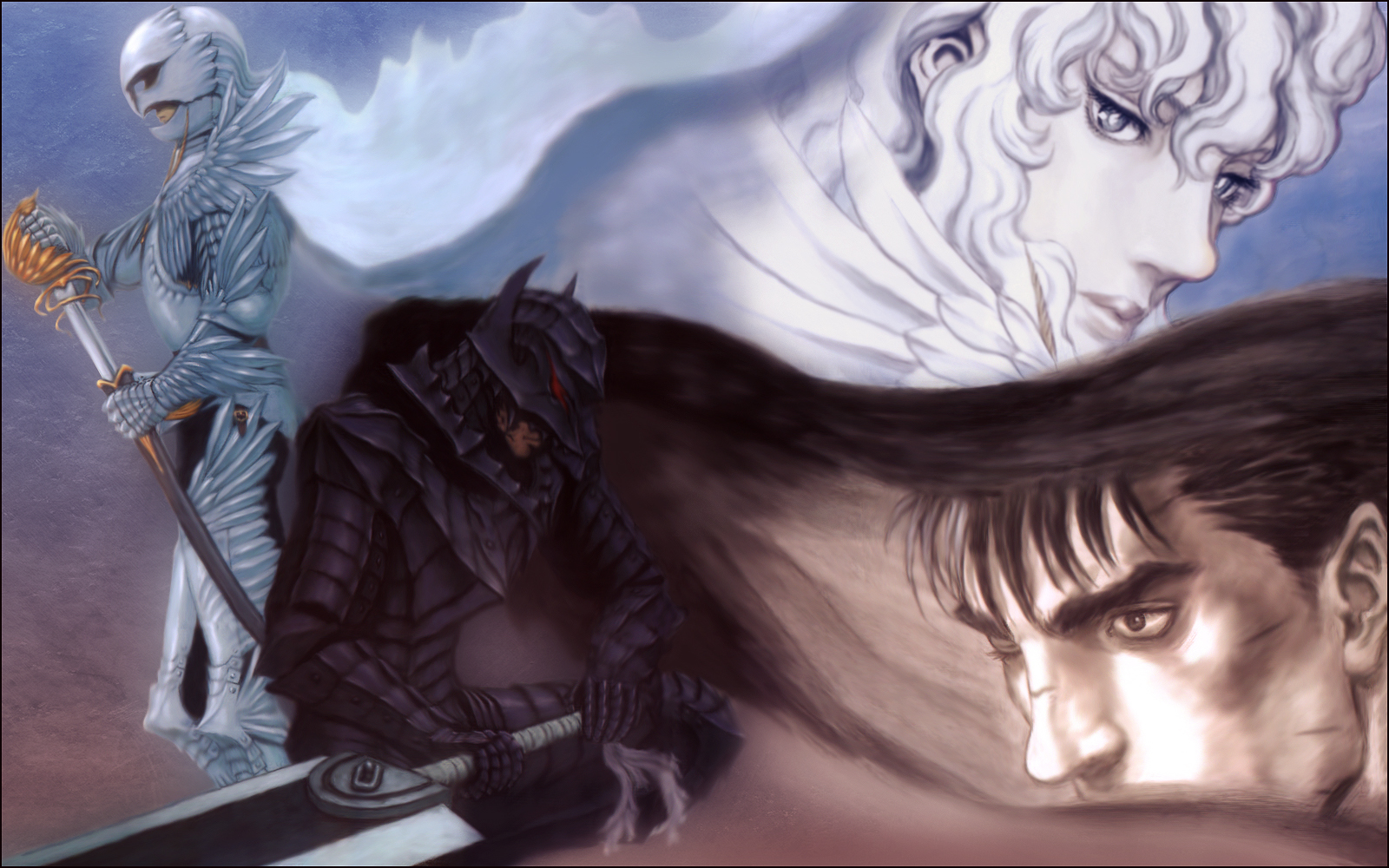 berserk Guts Griffith Manga HD Wallpaper
