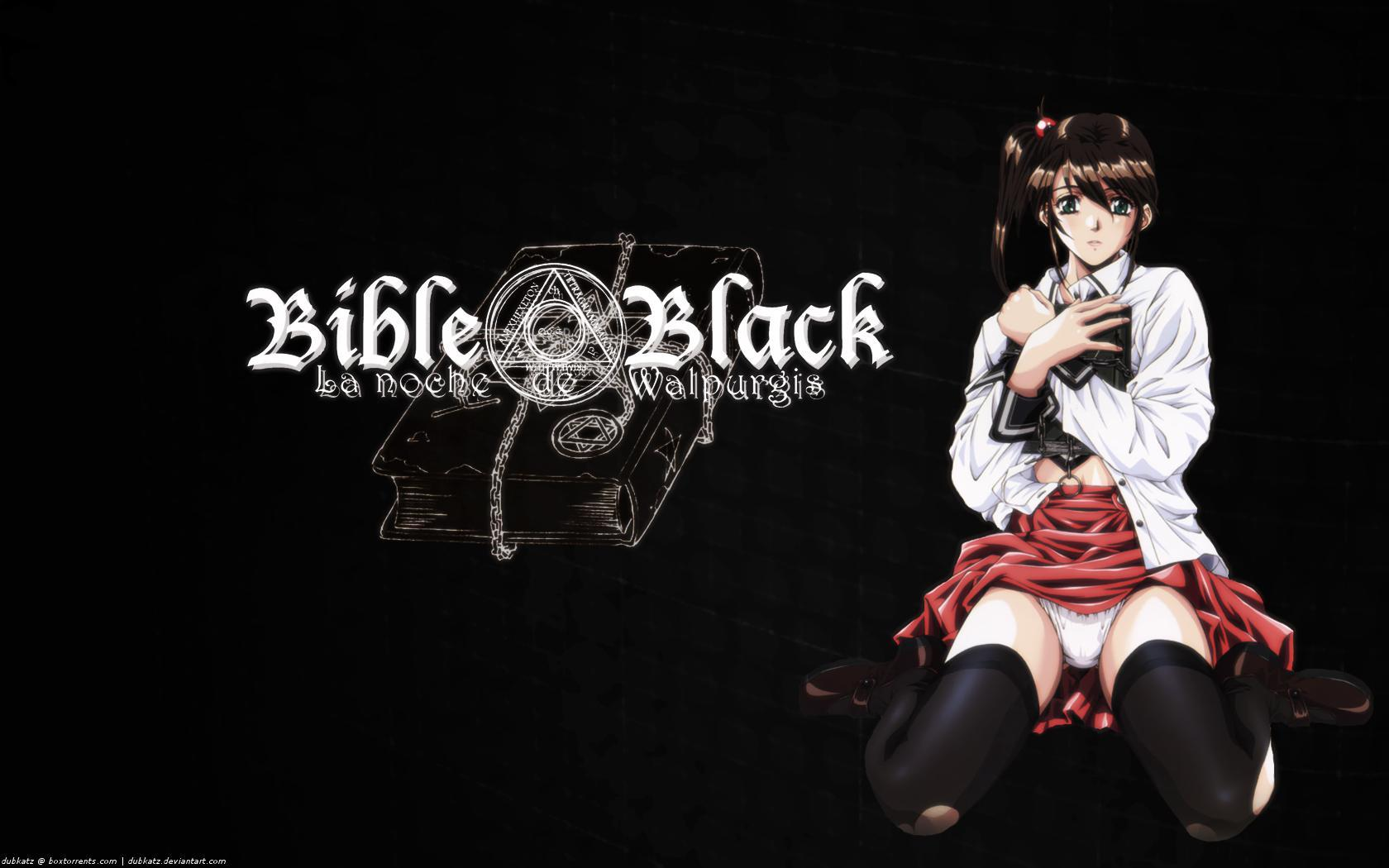 Bible black Anime HD Wallpaper