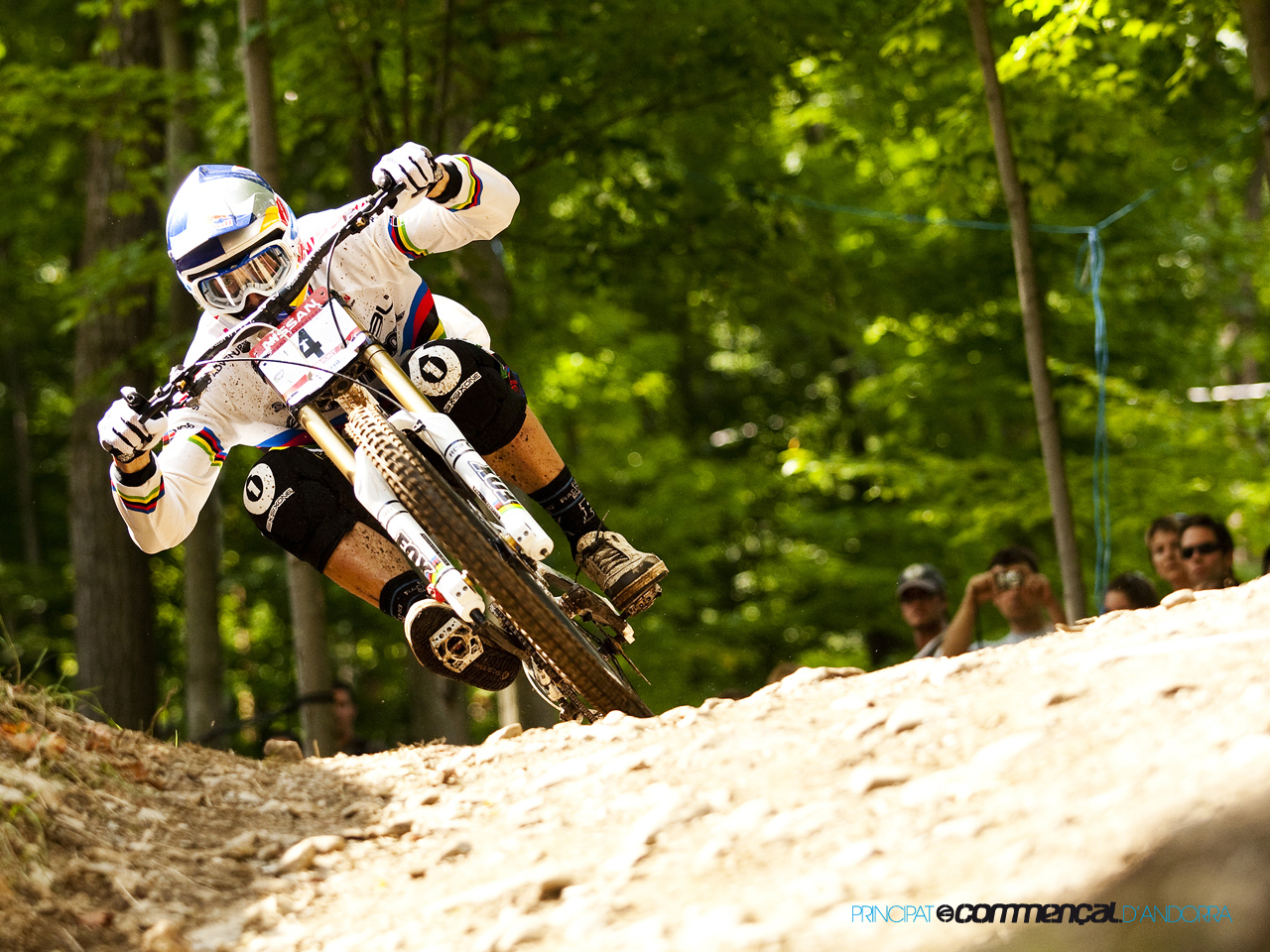 Bicycles downhill HD Wallpaper