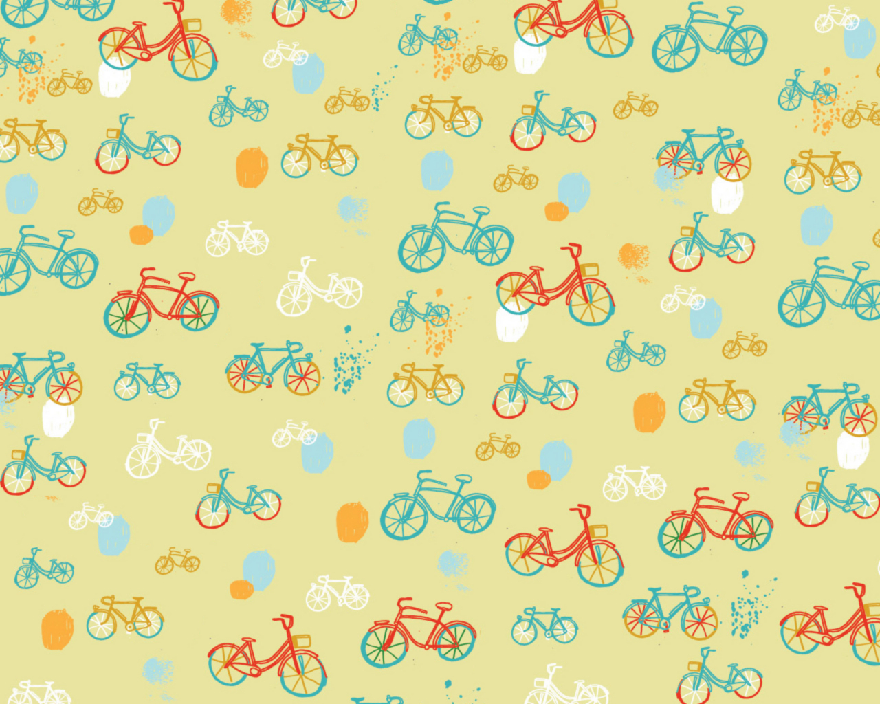 Bicycles shapes abstract HD Wallpaper