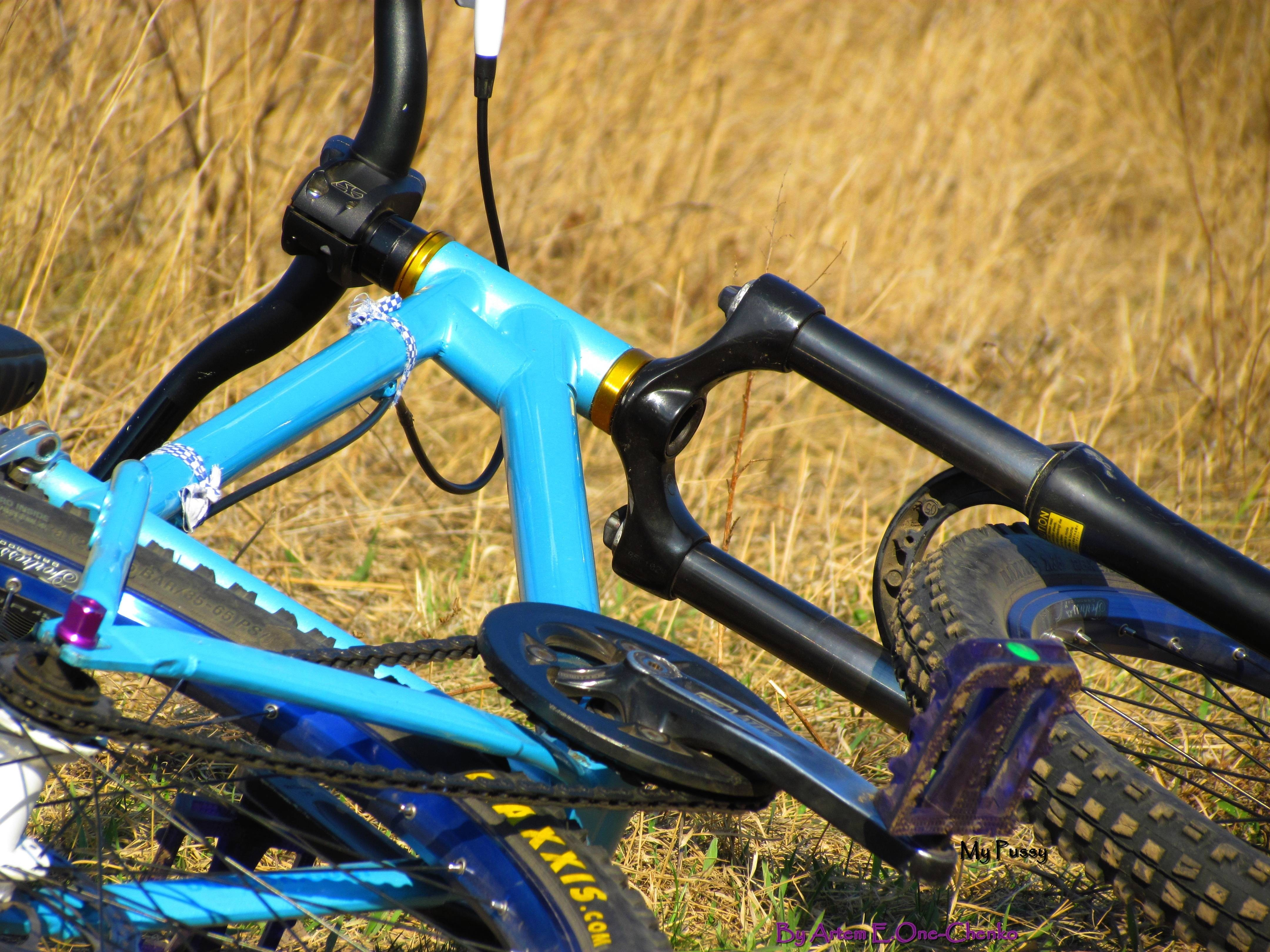bike Bicycles fields Ukraine HD Wallpaper