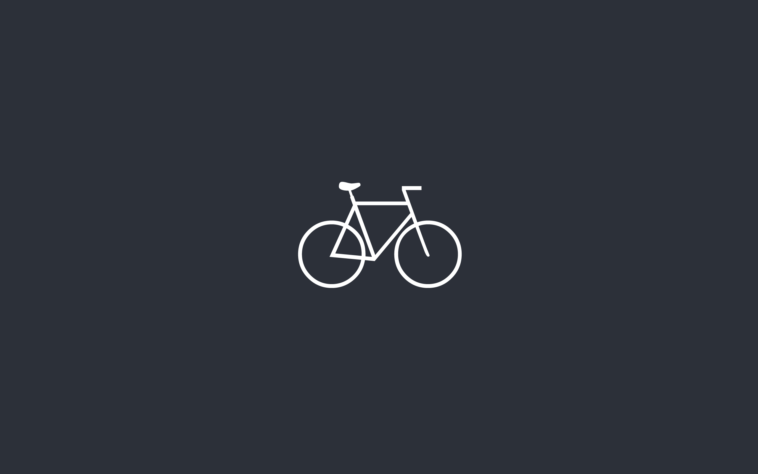 bike minimalistic Bicycles HD Wallpaper