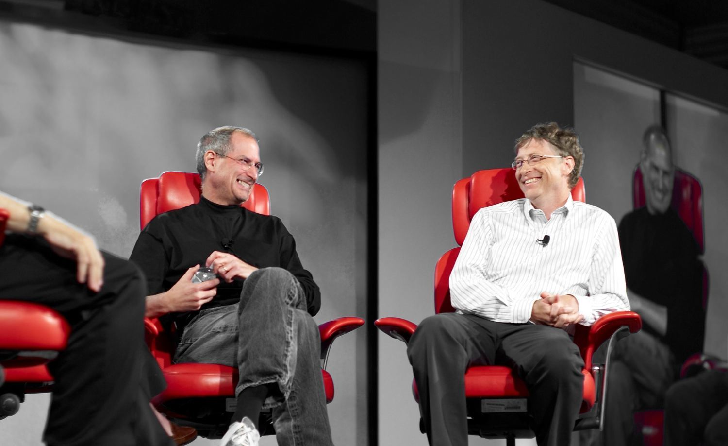 bill gates Steve Jobs HD Wallpaper