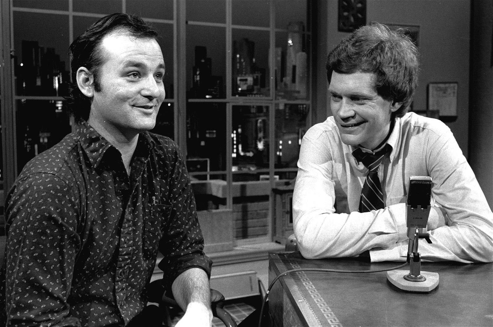 bill murray david letterman HD Wallpaper