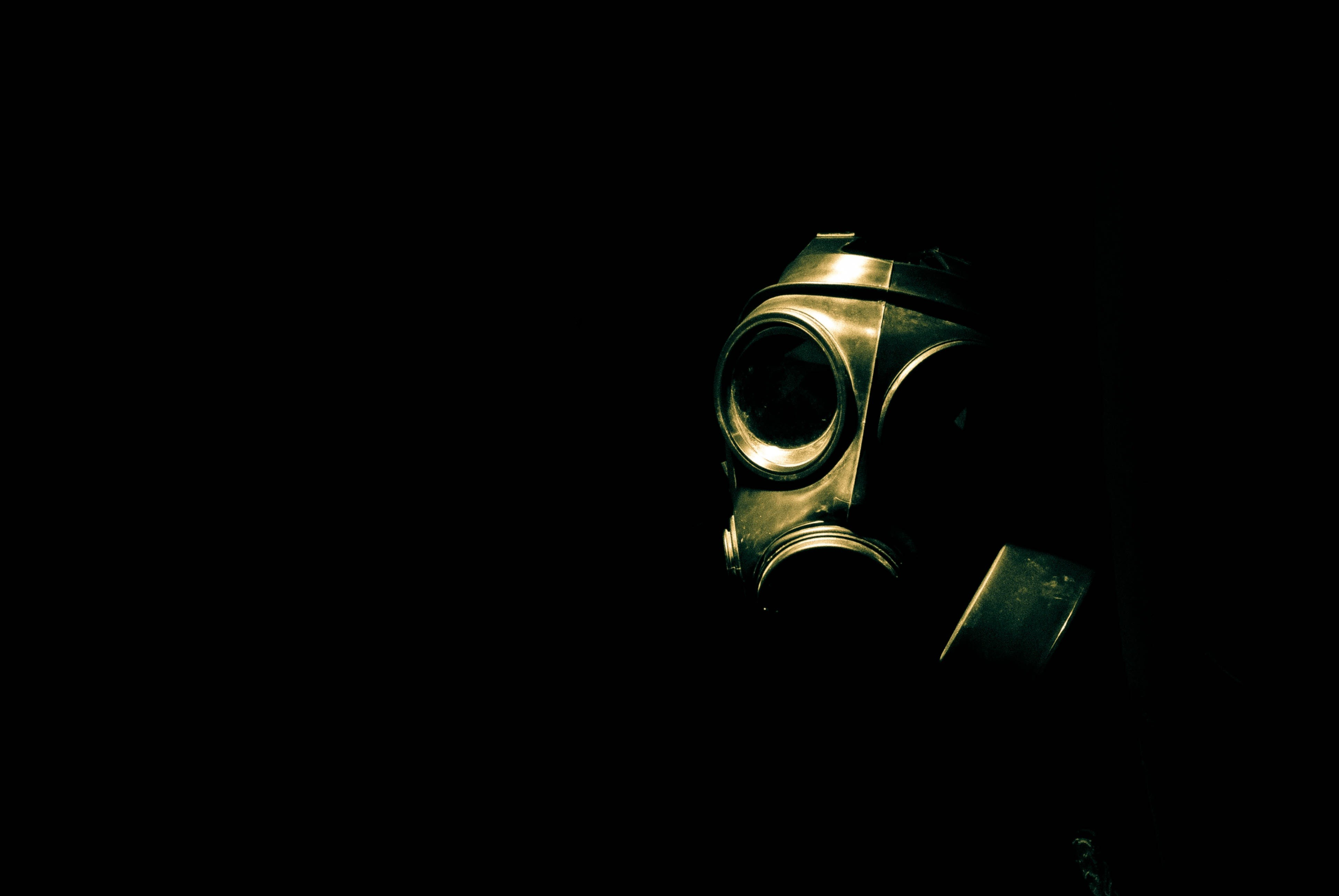 biohazard gas masks HD Wallpaper