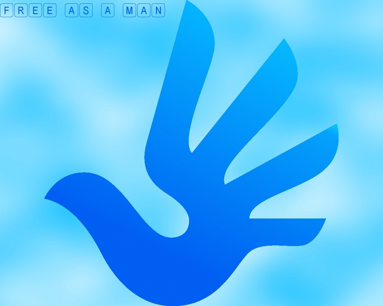 Birds doves hands logos HD Wallpaper