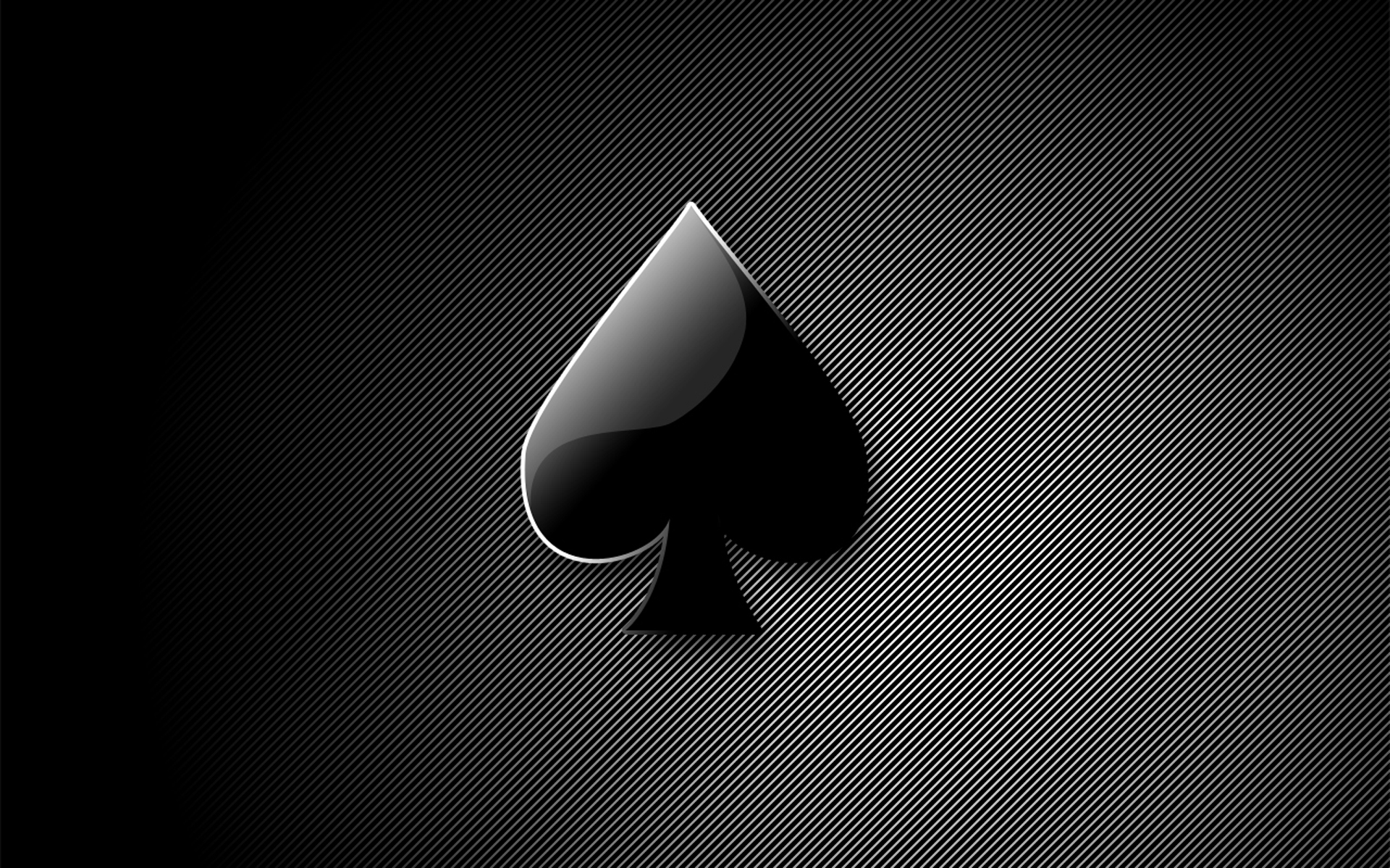black ace spade Maverick HD Wallpaper