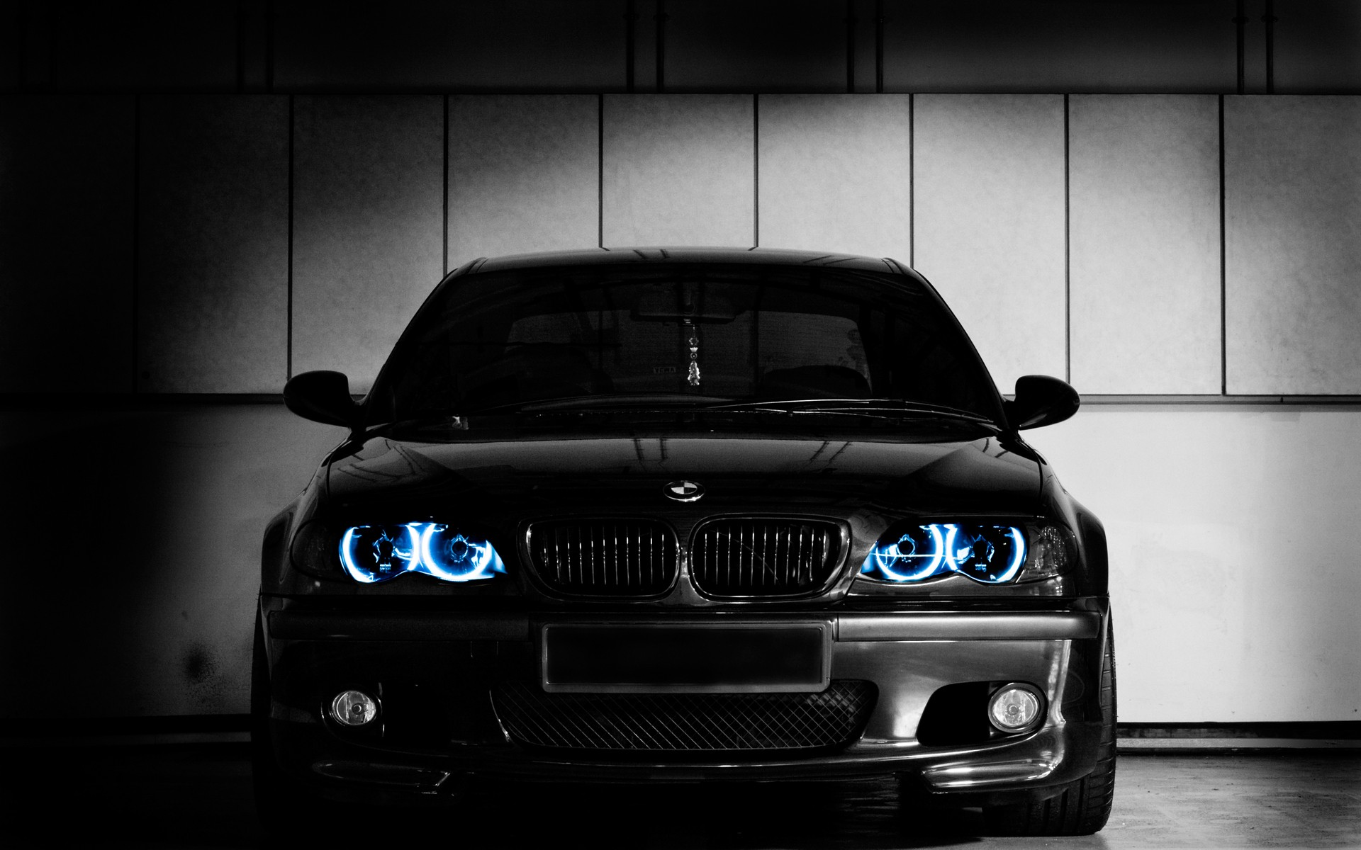 black cars BMW E46 HD Wallpaper