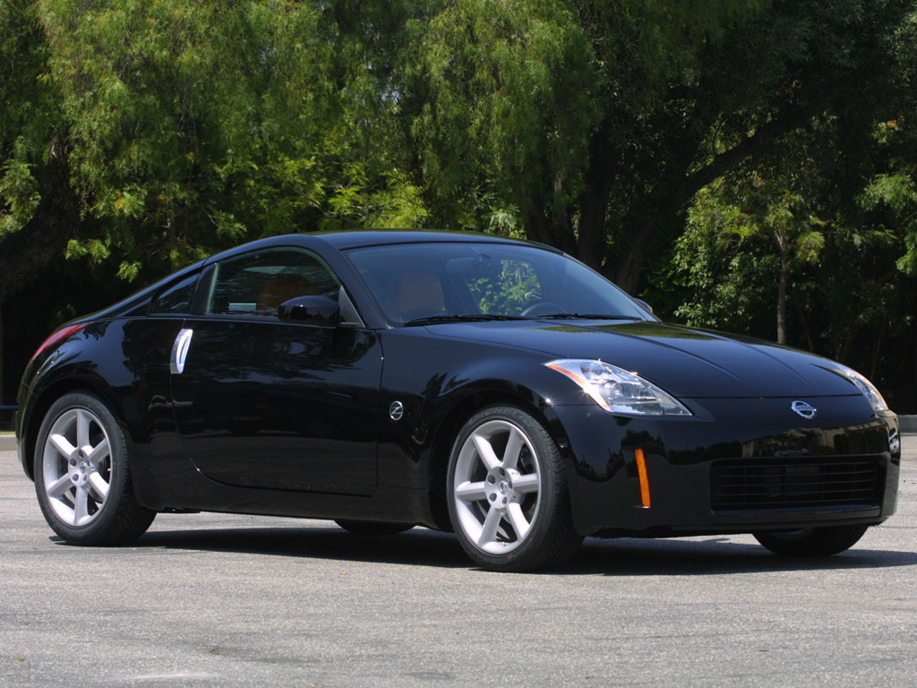 black cars front Nissan HD Wallpaper
