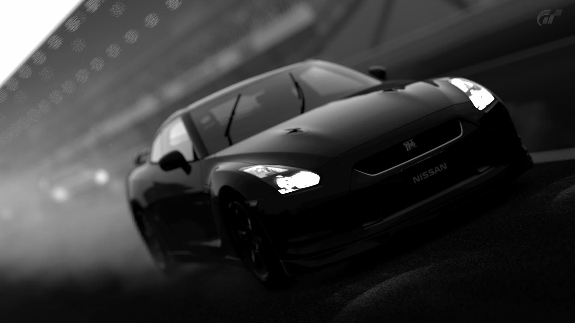 black cars monochrome Nissan HD Wallpaper