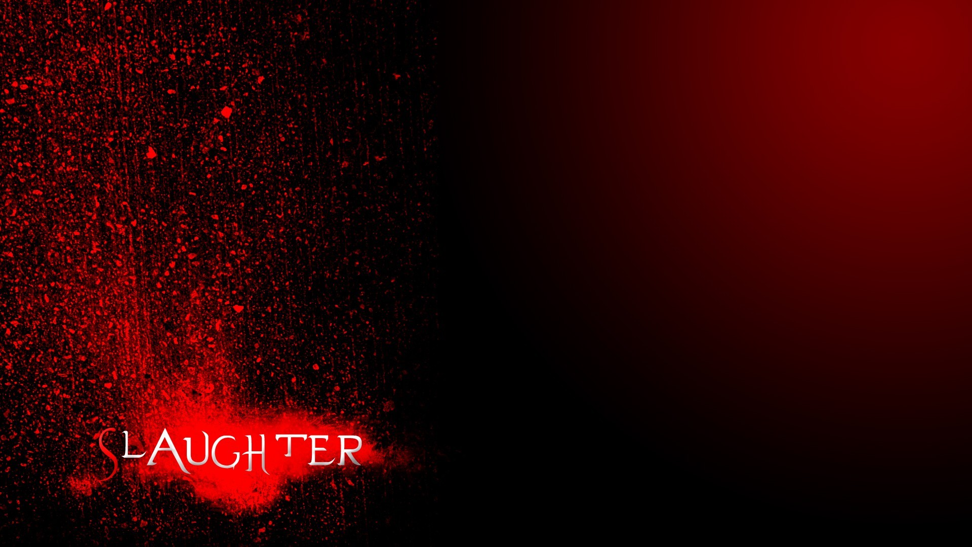 black dark red slaughter HD Wallpaper
